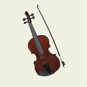 3д модель скрипки